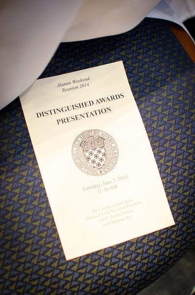 Distinguished Awards Ceremony